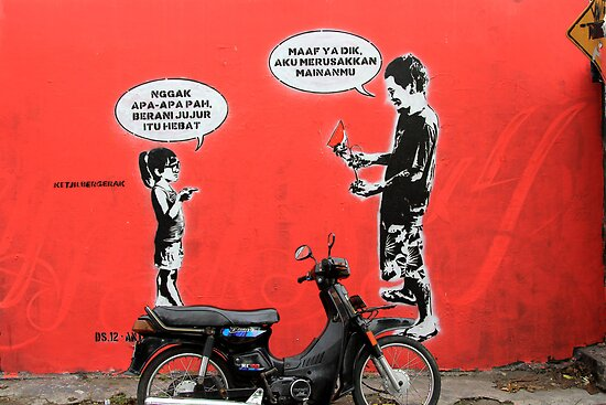 Street Art: global edition # 7 by fenjay