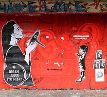 Street Art: global edition # 9 by fenjay