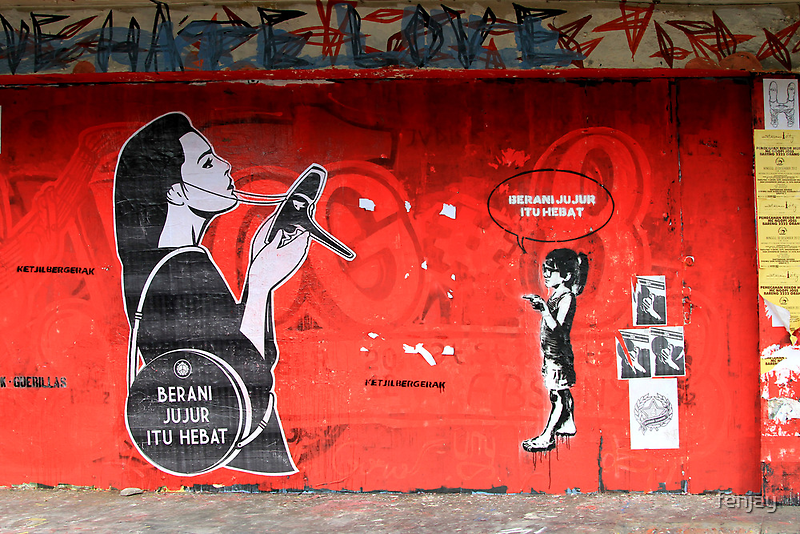 Street Art: global edition # 9 by fenjay