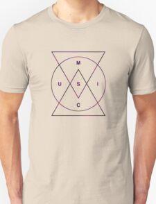 Music: Dusk (Red, purple, black) T-Shirt