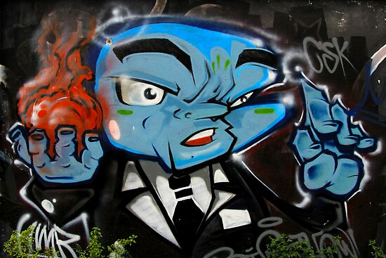 Street Art: global edition # 23 by fenjay