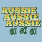Aussie Aussie Aussie OI OI OI !  Australian chant for Australia day by jazzydevil