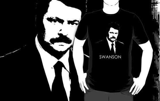 Ron Swanson by demios