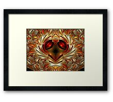 A Heart of Gold 2 Framed Print