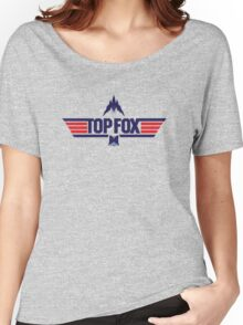Top fox Women's Relaxed Fit T-Shirt