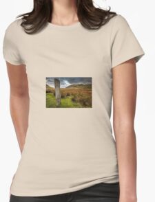 The Three Shires Stone Womens Fitted T-Shirt