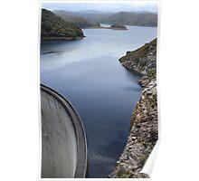 Gordon Dam - Lake Pedder           #3800 Poster
