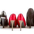 High heels red and black by tpfeller