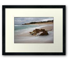 Koonya beach - Blairgowrie Framed Print