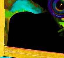Matisse Window Wicked Witch of West Sticker