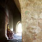 Buddhist temple in Bagan (Burma)  by Peter Voerman