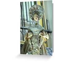 Doll in a beautiful dress Greeting Card