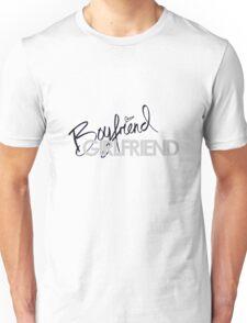 Boyfriend Girlfriend Unisex T-Shirt