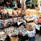 Market in Mandalay Burma/ Myanmar  by Peter Voerman