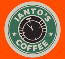 Torchwood - Ianto's coffee Kids Tee