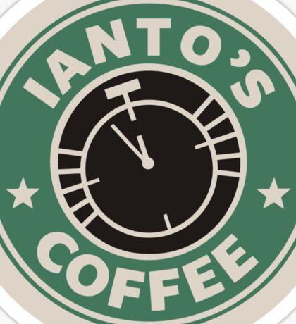 Torchwood - Ianto's coffee Sticker