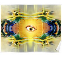 Motion Robots and the surprised eyeball Poster