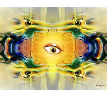Motion Robots and the surprised eyeball Photographic Print