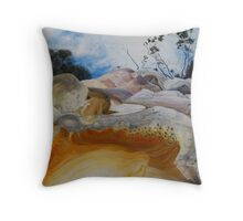 Orford onlookers Throw Pillow
