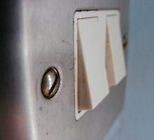 Light switch, up close by Sad-Robot