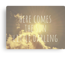 Little Darling  Canvas Print