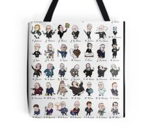 Presidents of the USA (with border) Tote Bag