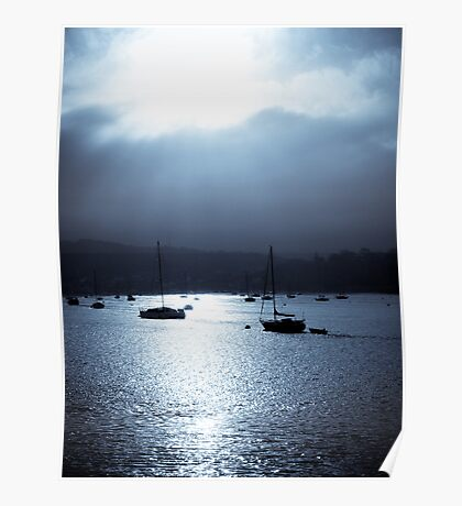 Deganwy Harbour Poster