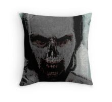 Zombie Portrait Throw Pillow