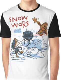Calvin And Hobbes snow-wars Graphic T-Shirt