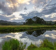 Elterwater Reflections by Mark Tomlinson