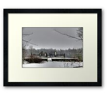 Past Generations Framed Print