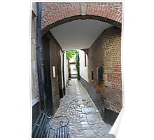 Vlaeykensgang - Oude Koornmarkt, 16 - Antwerp Poster