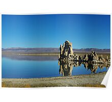 Tufa formations, Mono Lake Poster