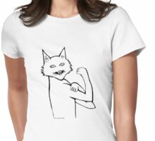 Cat Can Do It! T Shirt Womens Fitted T-Shirt
