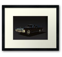 1961 Lincoln Continental Framed Print