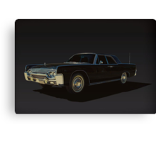 1961 Lincoln Continental Canvas Print