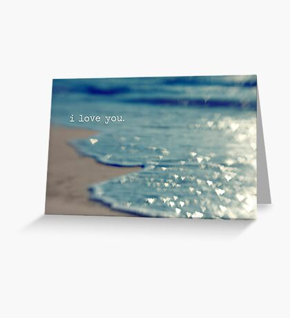 valentine - i love you Greeting Card