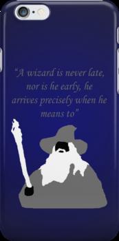 Gandalf The Grey iPhone Case by Allegiance