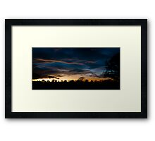 Monmouthshire Sunset Framed Print