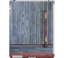 Old barn wall with hinge iPad Case/Skin