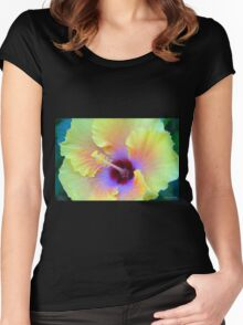 Mesmerizing Women's Fitted Scoop T-Shirt
