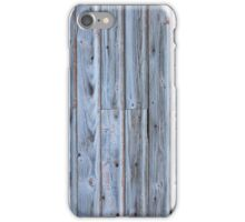 Old barn wall iPhone Case/Skin