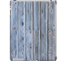 Old barn wall iPad Case/Skin
