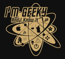 I'm Geeky And I Know It  Baby Tee