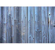 Old barn wall Photographic Print