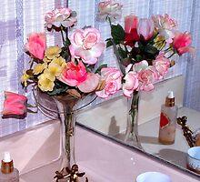 Vanity flowers by ♥⊱ B. Randi Bailey