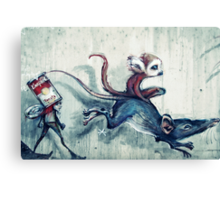 Rat race Canvas Print