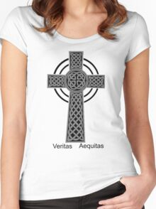 Boondock Saints Latin Women's Fitted Scoop T-Shirt