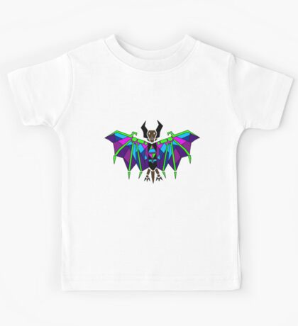 Stained Glass Bat Kids Tee