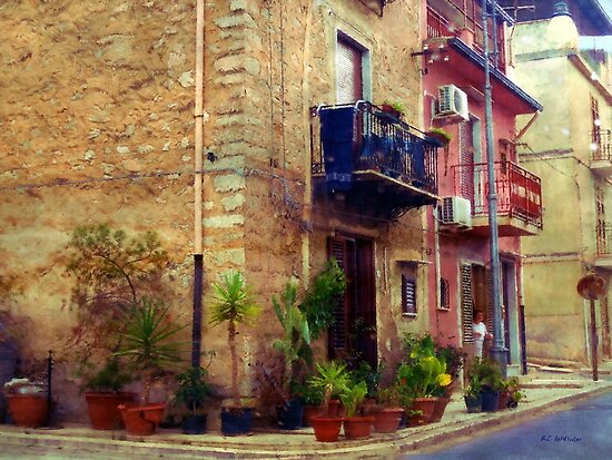 A Corner in Sicily by RC deWinter